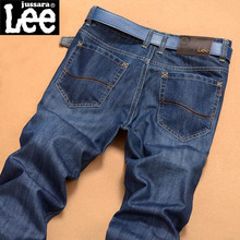 2016 men fashion straight men Jeans classic denim  brand jeans  fall spring  jeans cotton Slim Jeans(China (Mainland))