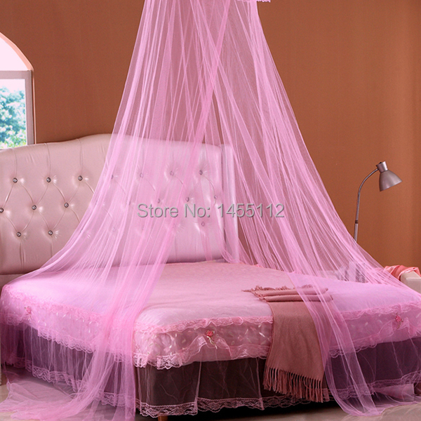 ... Pink Canopy Bed Lace Curtain Dome Princess Mosquito Net Bed Canopy Netting White Pink New In ... & Pink Canopy Bed - The Vanity Room Feminine Room Decor 15 Stylish ...