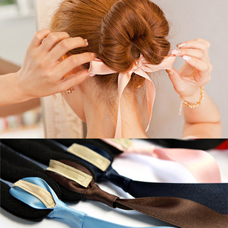 1PCS Hair Styling Tools Magic Tools Foam Sponge Device Quick Messy Donut Bun Hairstyle Hair Band Hair Accessories Styling Braid(China (Mainland))