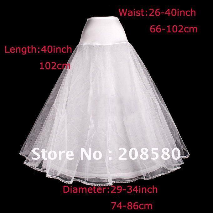 A-line one hoop lace edge tulle bridal wedding petticoats underskirts slip crinolines P01(China (Mainland))