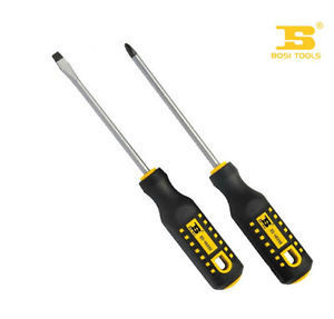 Free shipping PRETTY Tool 6125mm TPR Square Shank Phillips Screwdriver CRV Steel 1 piece(China (Mainland))