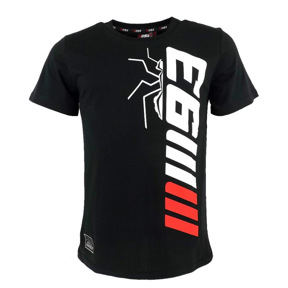 BLACK Marc Marquez 93 The Ant Cartoon Moto GP T-shirt casual T-shirt Cotton New(China (Mainland))