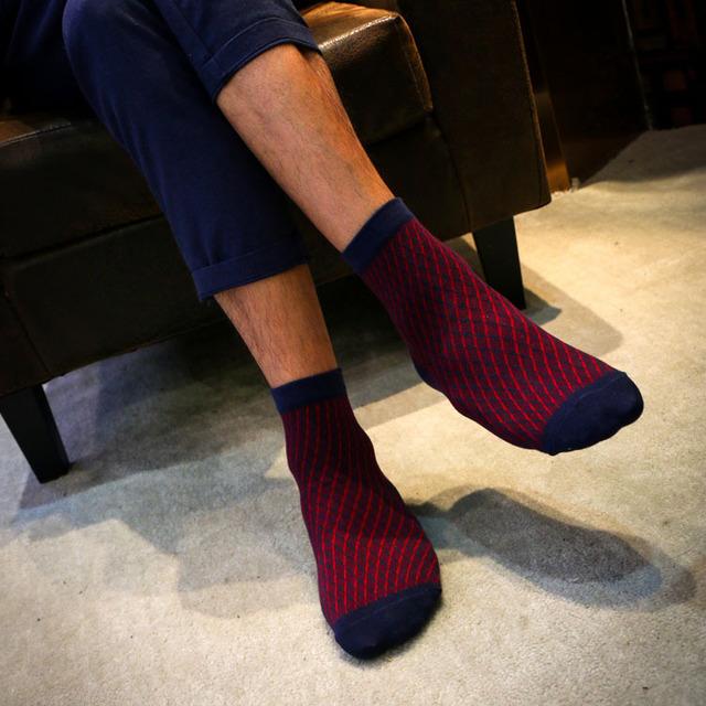 HX050 6509 Осень и Зима Новый Хлопок Мужские Носки Носки Оптом Бизнес Носок