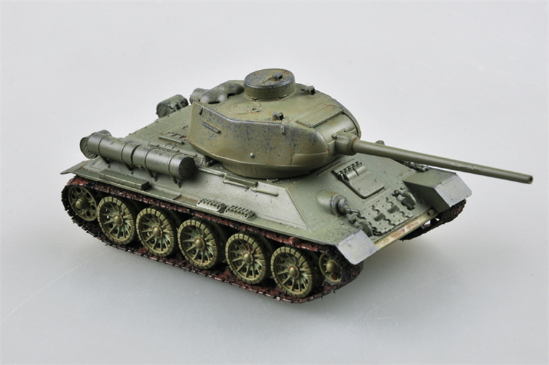 Trumpeter 1/72 Scale Soviet Army T-34-85 Medium Tank Finished Military Models Home Decoration 36602 Same Model as WOT(China (Mainland))