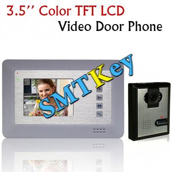 3.5 Inch Color TFT LCD Video Doorphone Door Bell Intercom Video System