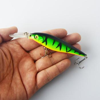 2.5-4m 10.5g Hard Bait Minnow Fishing lures Crankbait Wobbler Depth Dive Bass Fresh Salt water