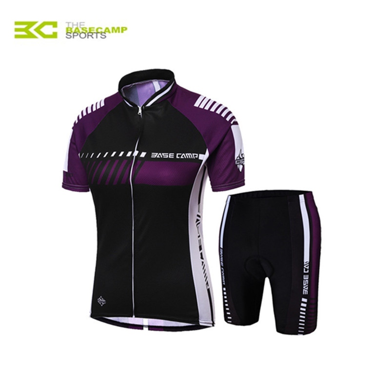 BASECAMP Mens&amp;Womens Cycling Jersey Suit Summer New Lightweight Lycra fabric Cycling Jersey Short Sleeve Set BC-525<br><br>Aliexpress