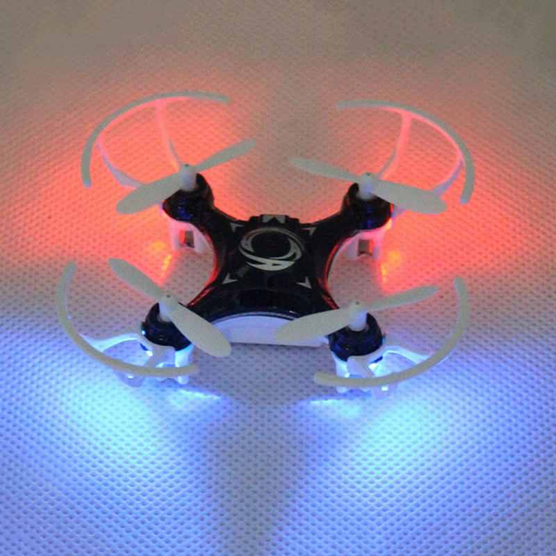2.4G 4-axis Mini Drone with Night Light RC Helicoper Quadcopter Remote Control Dron Flying Toy(China (Mainland))