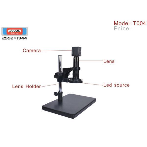 Supereyes T004 2000X Electronic USB Digital Microscope 5MP LED Light