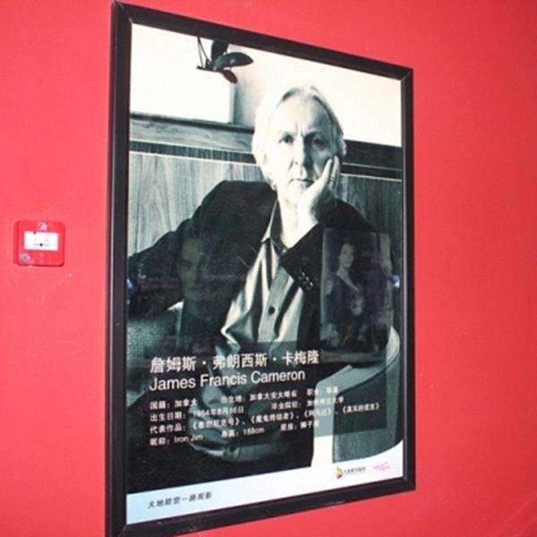 black aluminum led movie poster frame display light box snap poster frame 27 x40