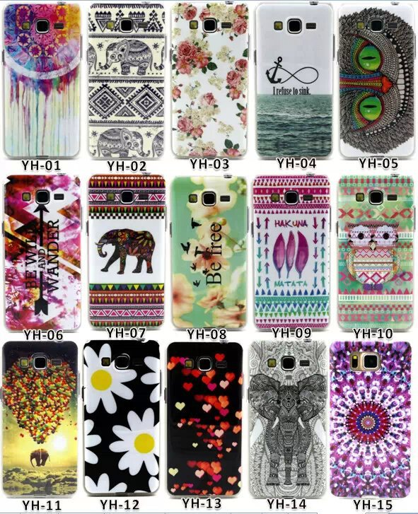 For Samsung Galaxy Grand Prime Case Owl Painting TPU IMD Silicone Mobile Phone Covers for Samsung Grand G530 G530H(China (Mainland))
