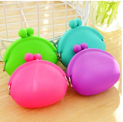 Rubber Silicone Pouch Purse Wallet Glasses Cellphone Cosmetic Coin Bag Case free shipping Y29(China (Mainland))