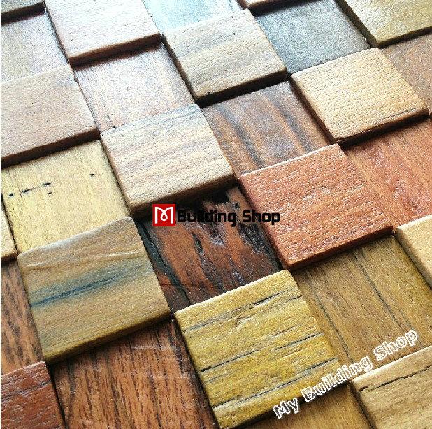 Natural wood mosaic tile NWMT036 3D kitchen backsplash tile wood mosaic pattern mosaic tile wood wall tiles<br><br>Aliexpress