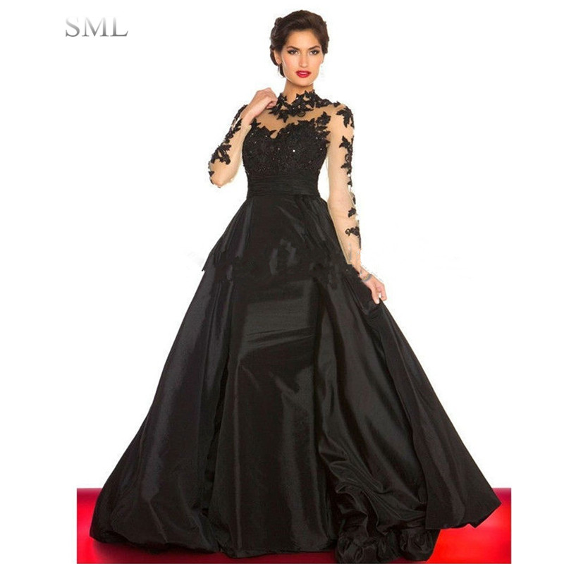 Popular Red and Black Lace Ball Gown-Buy Cheap Red and Black Lace ...
