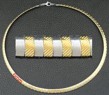 Joyería de acero inoxidable de moda 3/4/6/8mm OGM Collar gargantilla colorido Collar grueso para mujer Cadena de serpiente de moda regalo para niña(China)