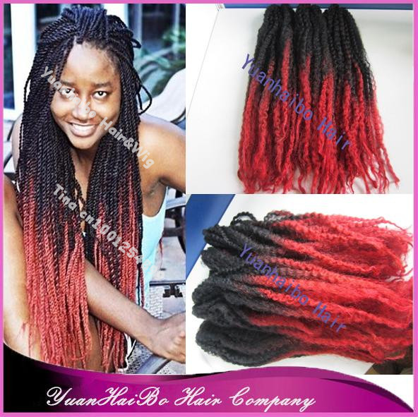 GRACEFUL HAIR MAKEOVER: Different shades of red twist