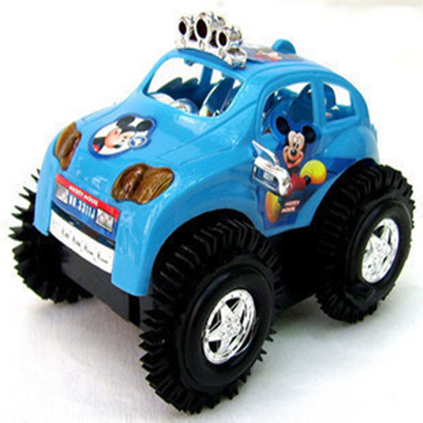 Electric off-road dump trucks Mickey children's toys wholesale best selling car manufacturers selling wholesale flea market(China (Mainland))