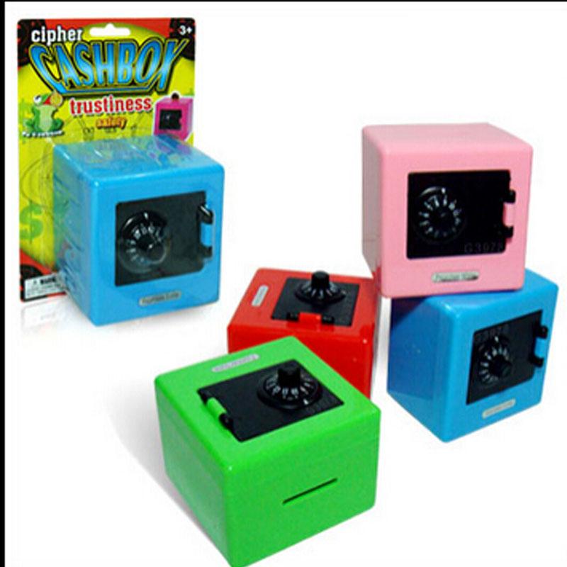 2015 hot sale children combination code safe lock piggy for Home money box