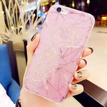 Luxury Diamond Bling Glitter Fashion Case for iPhone 6 6S 4.7″ Soft TPU Cases Back Phone Cover Popular