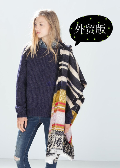 2016 Za новых женщин шарфы жаккардовые вязать шарф красиво мягкие кашемировые шарфы оптовая продажа
