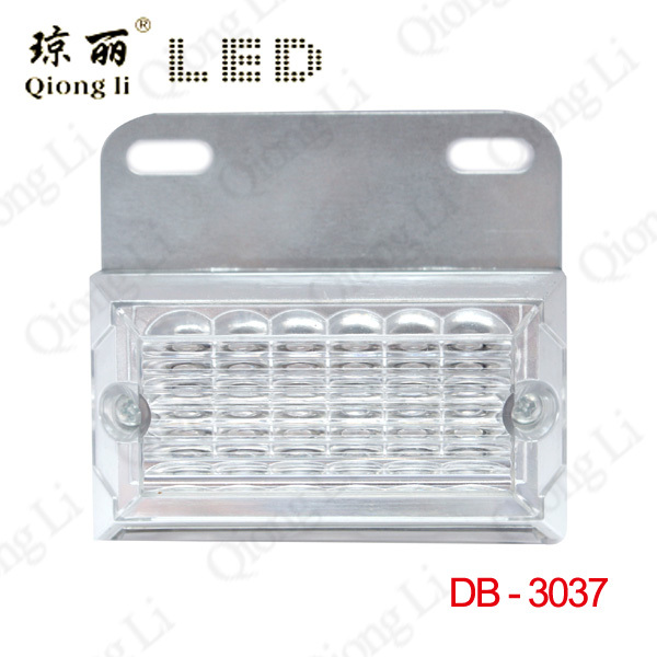 2015 New Arrival 15leds 12v Side Marker Light & Down corner Clearance Lamp For Truck Side turn signal(China (Mainland))