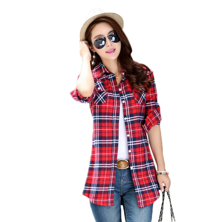 Compare Prices On Flannel Shirts Plus Sizes Women Online