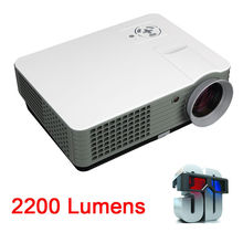 Free Gift 2200 Lumens LED Projector RD-801 TV HDMI Portable Multimedia Smart lcd video projector Home Theater 1080P movie(China (Mainland))