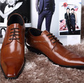 NEW Italian Style genuine leather shoes men s fashion brand design oxfords business casual lace up