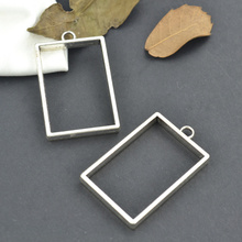 Buy 7 pcs Tibetan Silver Plated Picture frame Charms Pendants Jewelry Making DIY Accessories Charm Handmade Crafts 25110 for $1.93 in AliExpress store
