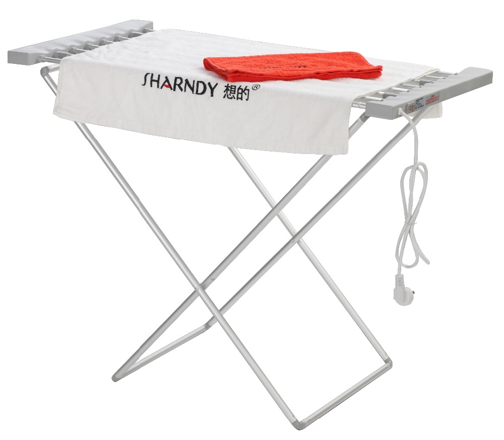 sharndy portable foldable household laundry drying rack