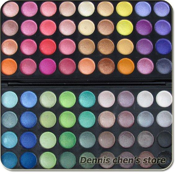 72 Colors Super Ultra Shimmer EyeShadow Palette Eye Shadow Makeup Palette Kit #72-2XG Set  Free Shipping Wholesale 4pcs/lot<br><br>Aliexpress