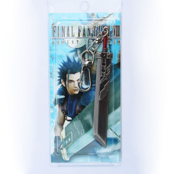 Final Fantasy VII 7 FF7 Cloud Sword Keychain - Buster Sword Free Shipping(China (Mainland))