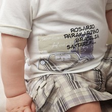 Baby Boys Infants Suit T shirt Plaid Shorts Pants Hat Clothes Outfits 3pcs