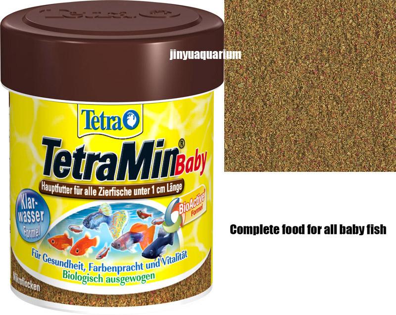 TetraMin Baby tropical fish food mini float flakes 66ml 30g canister feeder aquarium aitum angelfish discus(China (Mainland))