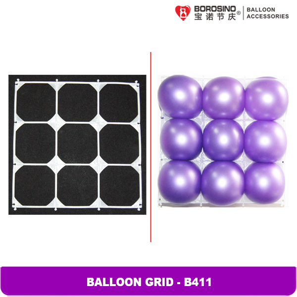 25 pcs/bag Balloon Wall Decoration Latex Balloons Transparent Balloon Grid(China (Mainland))