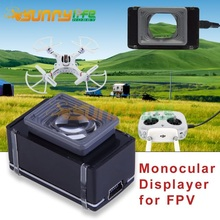 FPV Goggle Video Glasses 80in display effect Vision-720 Monocular Visual Glasses High Resolution for Quadcopter Drone