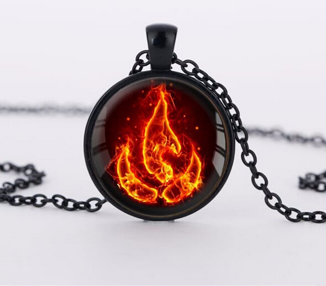 Charm 2016 necklacesAvatar the Last Airbender Fire Nation Necklace choker Jewelry wholesale(China (Mainland))