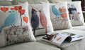 Free shipping 18in 18in American villagestyle Pilow flowers birds Pillows Decoration 4PCS Pillow Home Decor wholesale