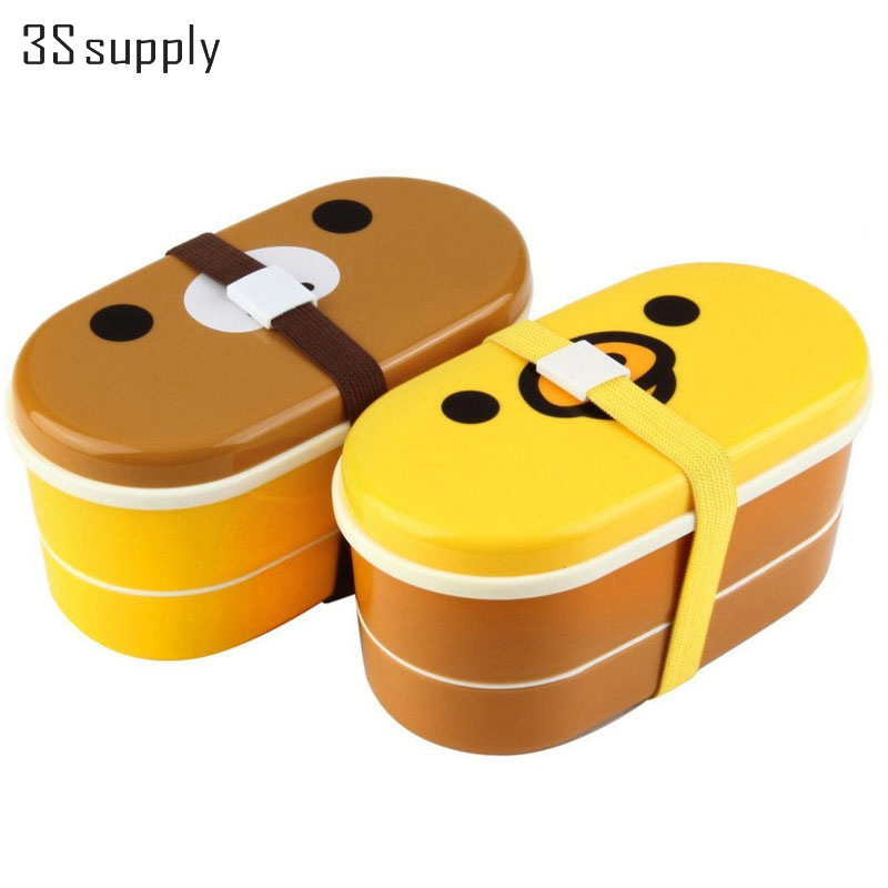 buy japanese style food container double tier bento accessories lunch box set. Black Bedroom Furniture Sets. Home Design Ideas