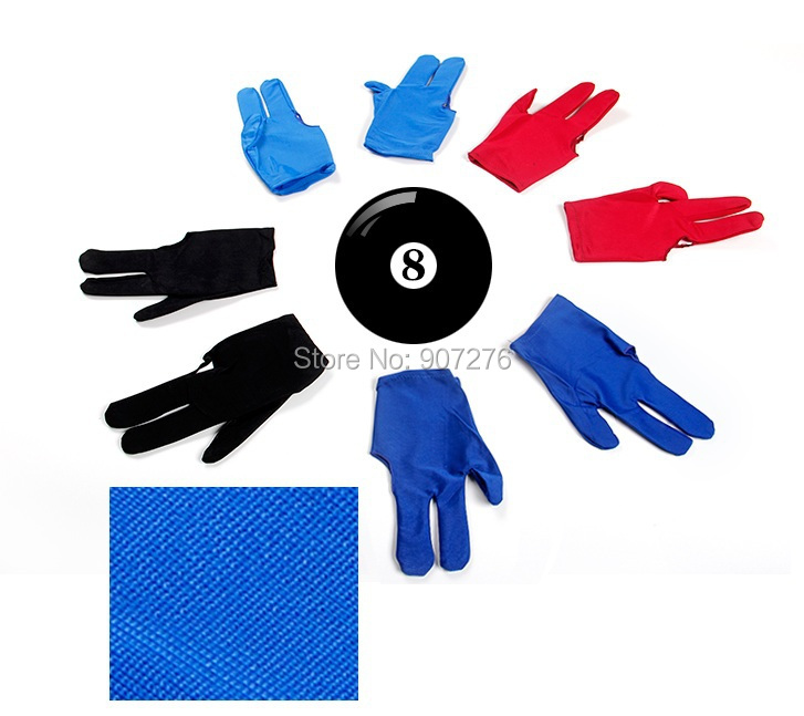hot selling billiard table glove, Snooker three finger glove(China (Mainland))
