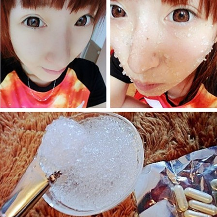 Full of $28 pieces of ice silk ice mask capsule membrane repair hydrating a /0.3 element(China (Mainland))