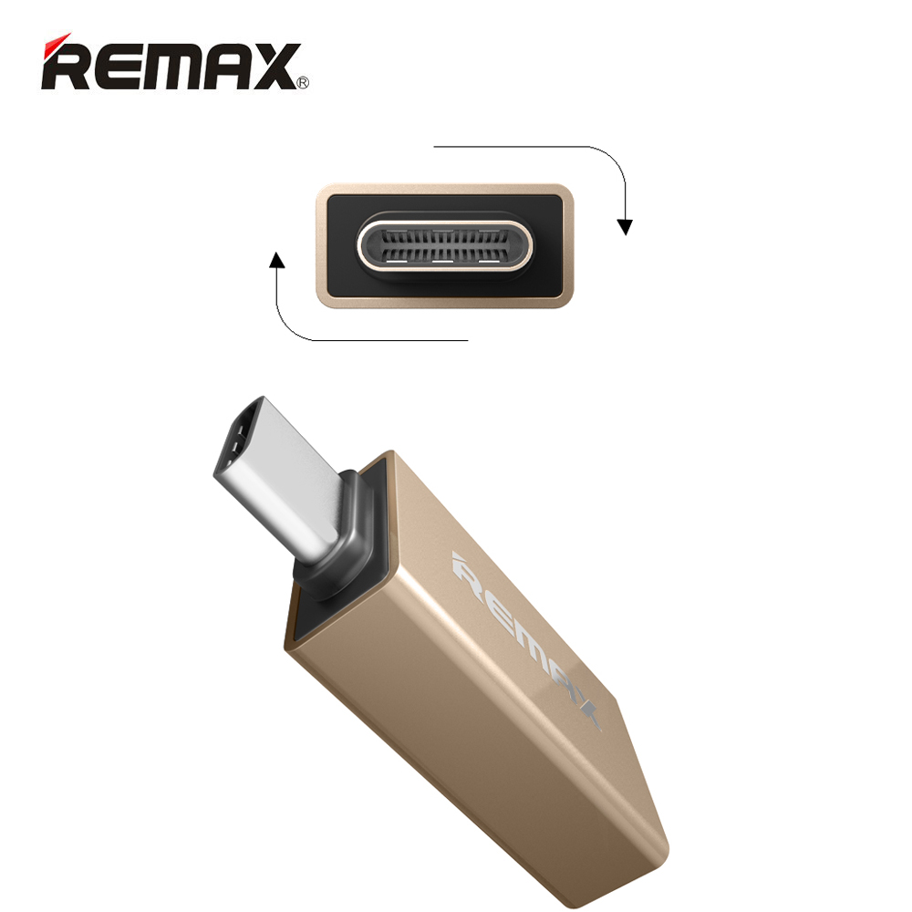 REMAX Type C OTG Adaptor Type-C USB Adapters compatible with USB1.1 / 2.1 / 3.0 / 3.1 Interface Devices Fast Charging Data Sync(China (Mainland))