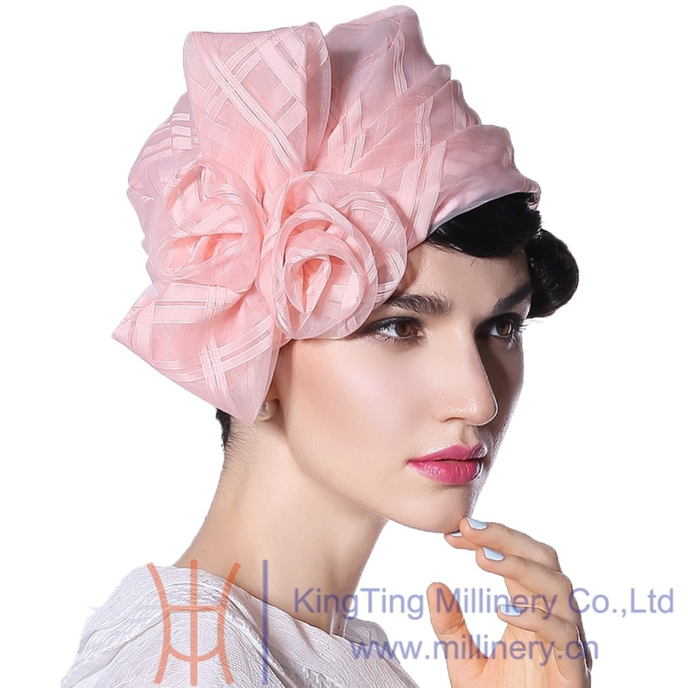 2017 French Style Women Derby Church Wedding Cocktail Evening Party Hat Skullies Beanies Sun Cap Berets Fedora Winter Warm