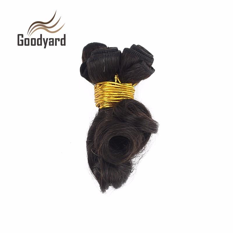 Brazilian Bouncy Curly Human Hair Bundles 4pcs/lot 50g  Spring Curly Short Virgin Brazilian Human Hair Extensions Weaves