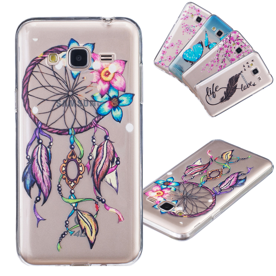 slim crystal clear silicone back case cover for samsung galaxy j3 2016 coque dreamcatcher. Black Bedroom Furniture Sets. Home Design Ideas