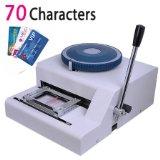 Guarantee 100% New Manual 70 Code Letterpress PVC card embossing machine Magnetic Membership ID Plastic Card Embosser Printer(China (Mainland))