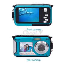 2016 HD 16X  Zoom Fantastic Double Screen 1920x1080 Anti-shake Digital Camera 2.7' TFT Smile Capture Video Camcorder DVR50B-48W(China (Mainland))