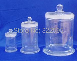 150x240mm glass specimen bottle with cover<br><br>Aliexpress