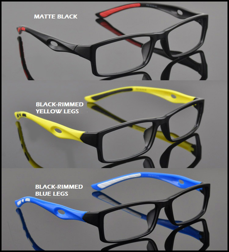 Sports Full Frame Eyewear TR90 Material Ultra Light Play Riding Myopia Eye Glasses Frames For Men(China (Mainland))