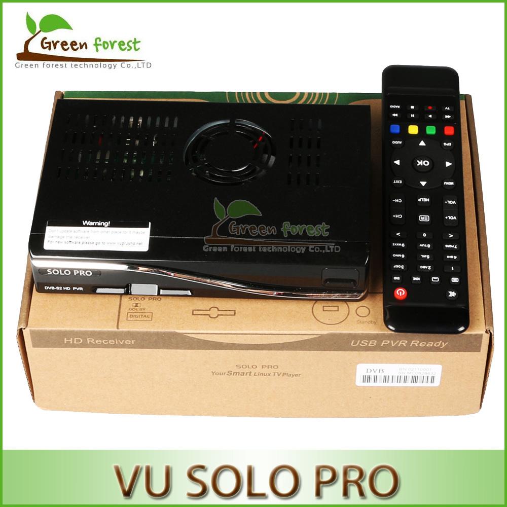 New Model VU SOLO PRO Satellite Receiver DVB-S2 HD Cloud ibox original dvb-s2 Mini Vu Solo IPTV+Youtube streaming channel HD(China (Mainland))